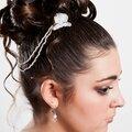 Pic cheveux double dentelle