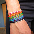 <b>Bracelets</b> <b>d</b>'<b>amitié</b> multi-rangs fils coloré / Surf <b>Bracelet</b>