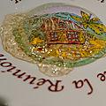 <b>Confit</b> de vin blanc moelleux au piment d'Espelette