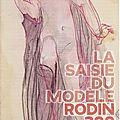 La saisie du modèle, Rodin