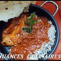 Poulet vindaloo (inde)