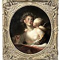<b>Jean</b> <b>Honoré</b> <b>Fragonard</b> (Grasse 1732-1806 Paris), Sappho inspired by Cupid
