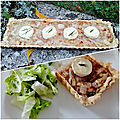 Ma <b>tarte</b> aux <b>oignons</b> roses de Roscoff