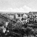 Village de Cesse après les combats