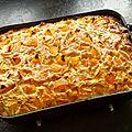 Clafoutis aux abricots, à l'amande et au romarin
