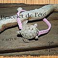 bracelet de l'été tortue