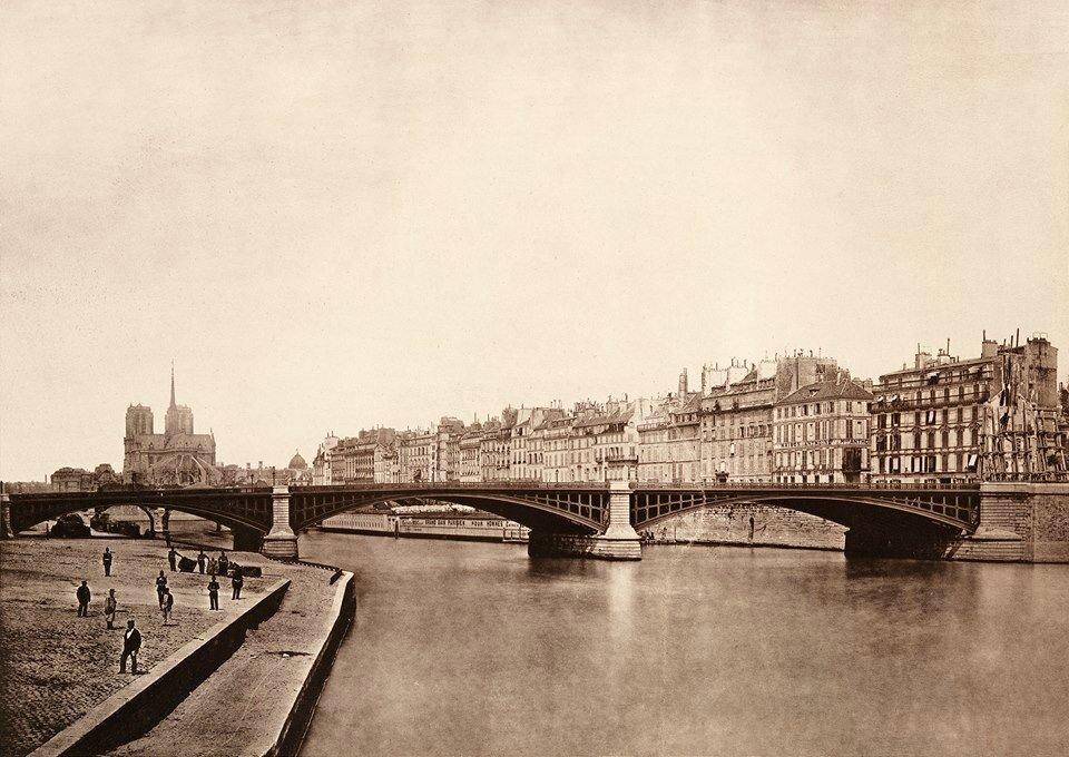 Le Pont de Sully 1880