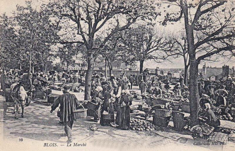 Blois - marché