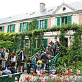 Giverny : la maison de claude monet