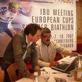 Préparation coupe d'Europe biathlon Val Ridana (Italie)