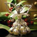 Ange perles et épingles