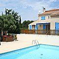 Villa avec piscine à vendre dans le Gard