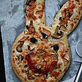 Pizza lapin
