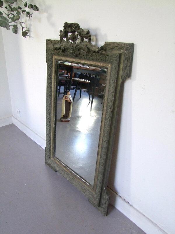 Grand-miroir ancien