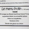 Le menu frotin Pau <b>Pyrénées</b>-<b>atlantiques</b> restaurant
