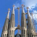 Sagrada Familia-encore facade-grue