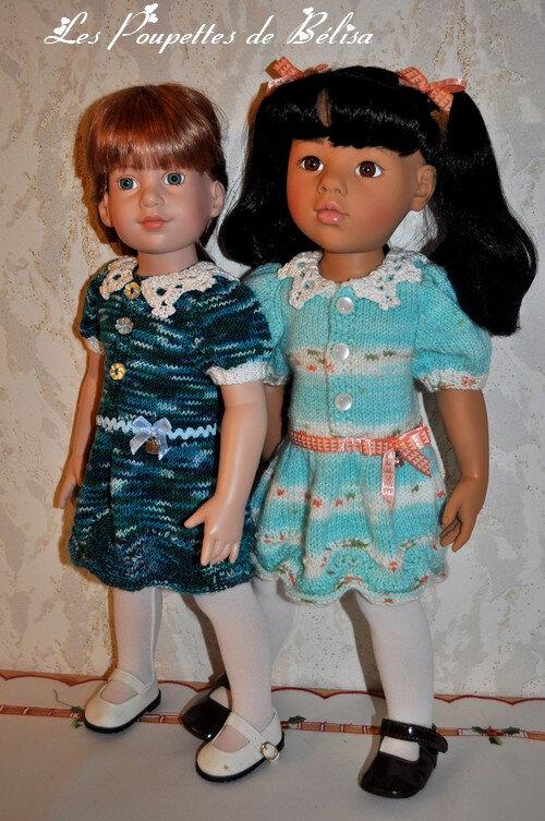 Après la robe 50... voici la version 46 (cm).