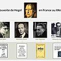 la redécouverte de Hegel en France au XXe siècle