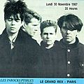 <b>Echo</b> <b>and</b> <b>The</b> <b>Bunnymen</b> - Lundi 30 Novembre 1987 - Le Grand Rex (Paris)