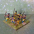 Mes archers pour mon armée de samurai
