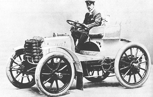 1899 paris-bordeaux - fernand charron (panhard) 1st