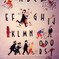 Tintin - peinture et broderie