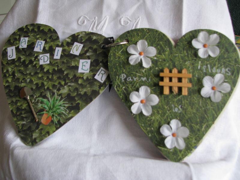 doubles pages jardiner et parmi les fleurs