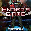 Ender's game from Orson Scott Card