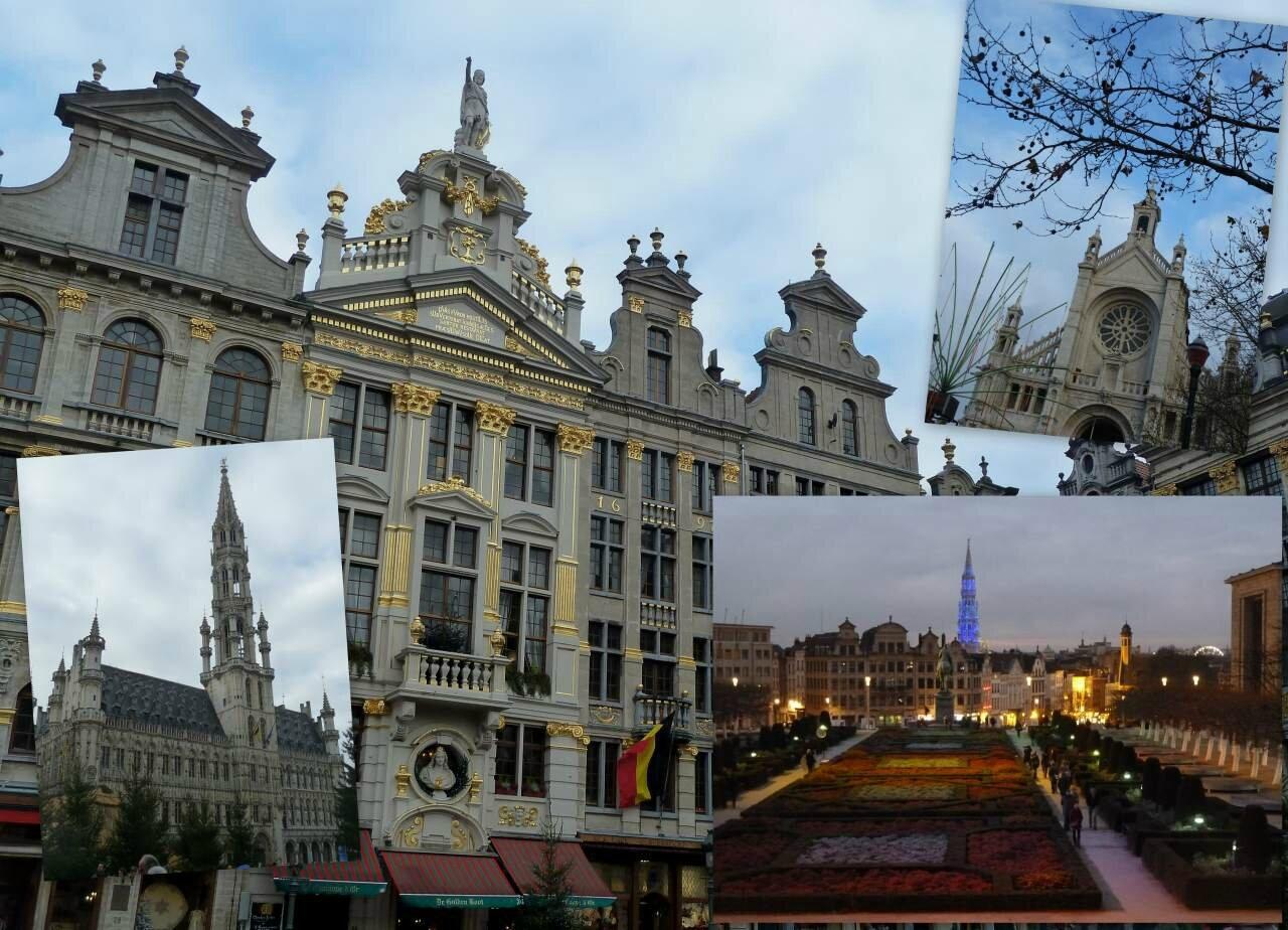 marché de Noël à Bruxelles