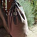 Et un grand sac pour compléter le paquetage de mon grand coco...