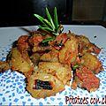Potatoes con chorizo
