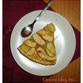 Aujourd'hui, nous avons testé la tarte aux pommes ...