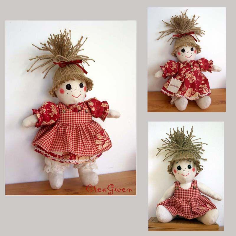poupée rouge