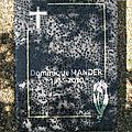 Angers - famille Mander-
