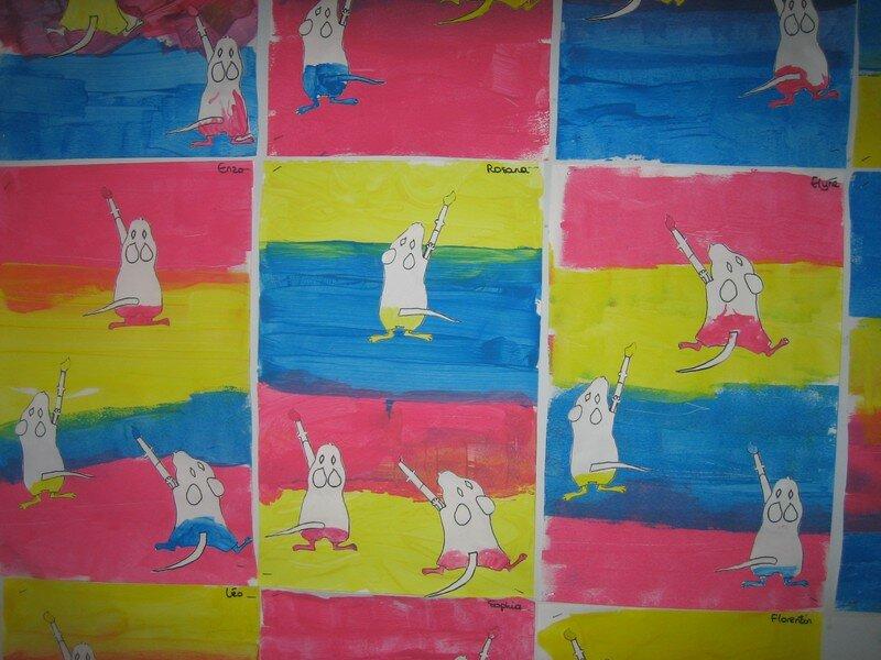Les souris peintres