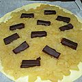 Galette pomme chocolat
