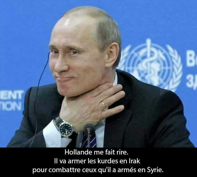 hollande ps poutine humour syrie
