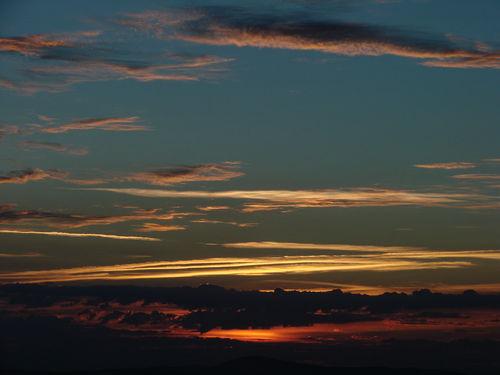 2008 08 11 Le levé du soleil depuis le sommet du Pic du Lizieux (9)
