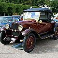 Chevrolet capitol doktorwagen de 1927 (9ème Classic Gala de Schwetzingen 2011) 01