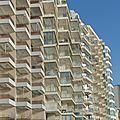Vendée, les sables d'olonne, architecture d'hier et d'aujourd'hui -