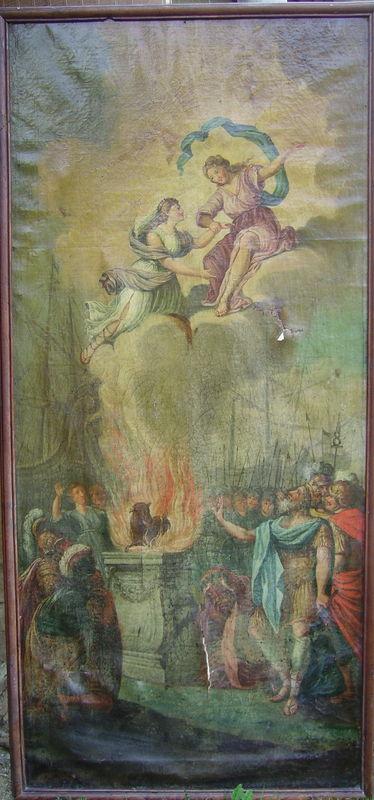 sacrifice d'iphigénie Avant