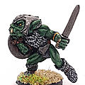 Orc of the <b>Severed</b> <b>Hand</b> - Swordsman / Grenadier