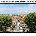 Vue panoramique depuis le parc Mauresque