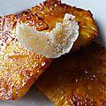 Un ananas tout doré avec sa petite dose d'arômes poivrés