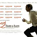[critique ciné] 12 years a slave