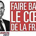 Présidentielle - Des citoyens se mobilisent avec Benoît Hamon...