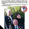 Le décès de jean rede, l'officier de l'ordre national de la légion d'honneur