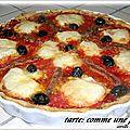 Tarte:comme une pizza!