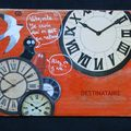 Mail-art pour Josette (recto) - 11/2009