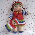 Little dolly and baby bunting - dollytime